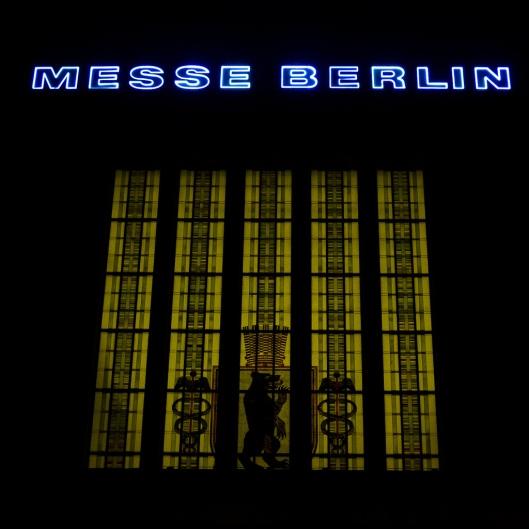 Messe Berlin Foto des Haupteinganges www.sqfp.info